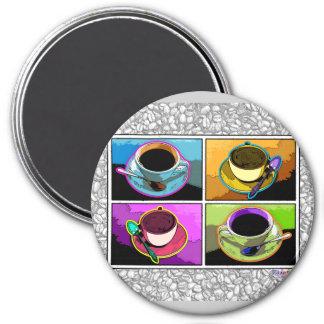 Magnets - Java Addictions Pop Art