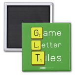 Game Letter Tiles  Magnets (more shapes)