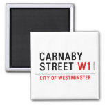 CARNABY STREET  Magnets (more shapes)