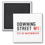 downing street  Magnets (more shapes)