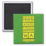 keep calm and love Retha wa Bongz  Magnets (more shapes)