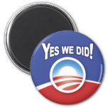 Magnets - Obama Yes We Did