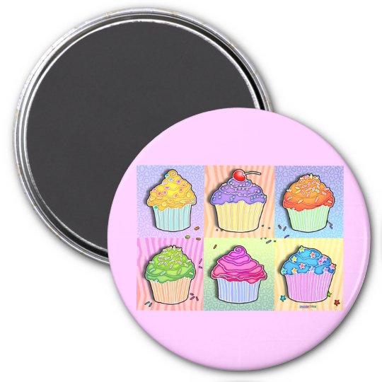 Magnets - Pop Art Cupcakes