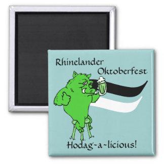 Magnets souvenir Rhinelander Hodag Hodags WI wisc