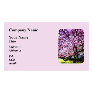 Magnificant Magnolia Double-Sided Standard Business Cards (Pack Of 100)