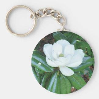 Magnificant Magnolia Keychain
