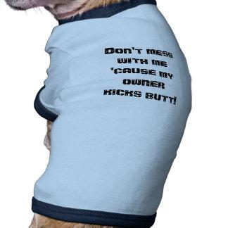 Magníficas camisas para los perros camisetas de perro