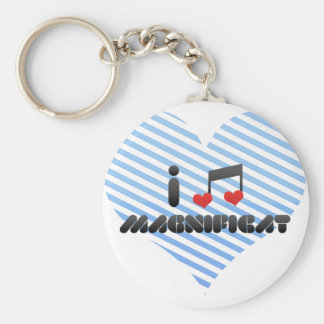 Magnificat Key Chain