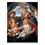 Magnificat Madonna Postal