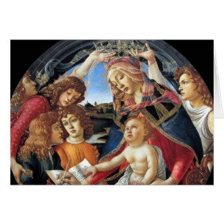 Magnificat Madonna Tarjeta De Felicitación