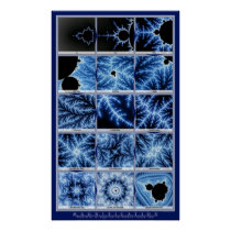 Magnification - Blue Poster