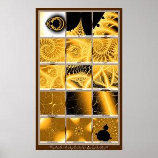 Magnification - Orange Poster