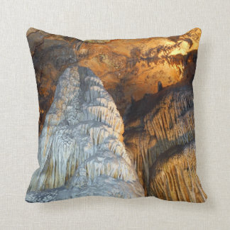 Magnificence Mighty Stalagmite Columns Throw Pillow