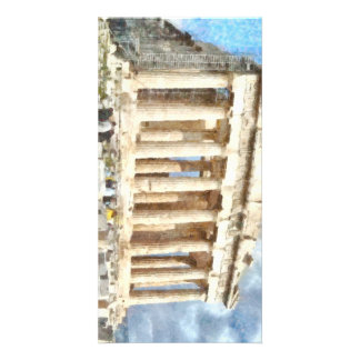 Magnificent Acropolis in Athens Photo Card