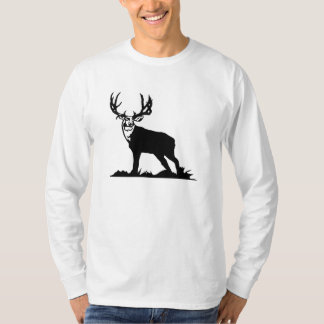 Magnificent Buck Silhouette Tshirts