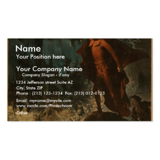 Magnificent Faust Business Card