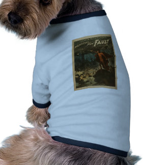 Magnificent Faust Dog Tee Shirt
