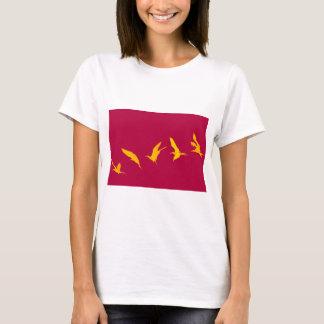 Magnificent frigate bird Galapagos Islands T-Shirt