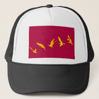 Magnificent frigate bird Galapagos Islands Trucker Hat