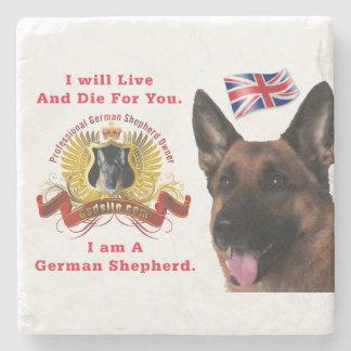 Magnificent German Shepherd Dog Coaster