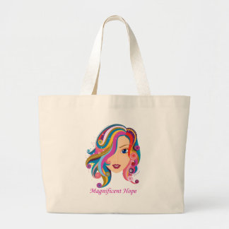Magnificent Hope Tote Bags