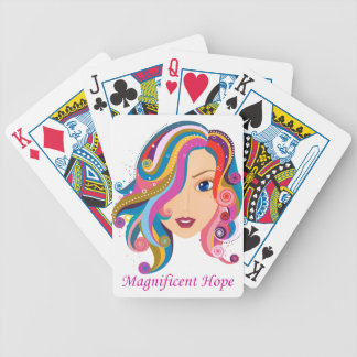 Magnificent Hope Bicycle Playing Cards