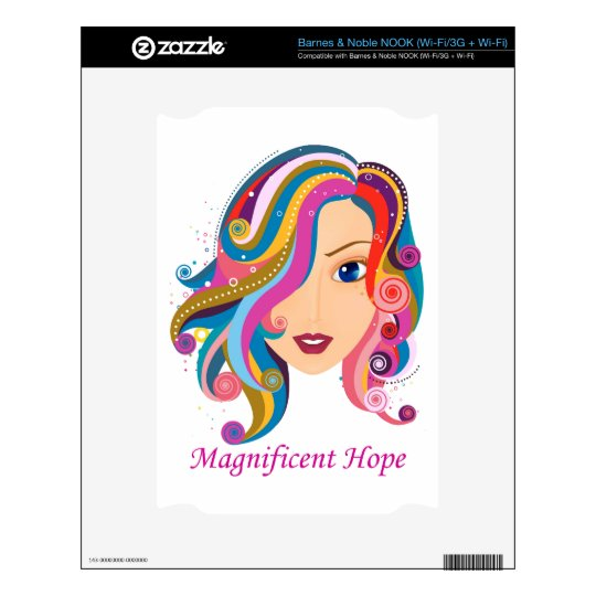 Magnificent Hope NOOK Decals