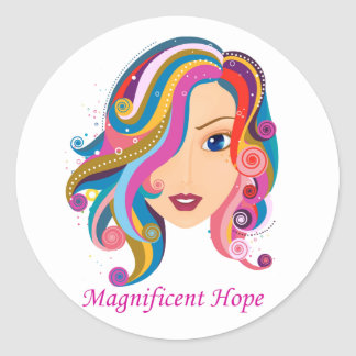 Magnificent Hope Stickers