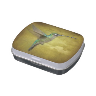 Magnificent Hummingbird Jelly Belly Tin