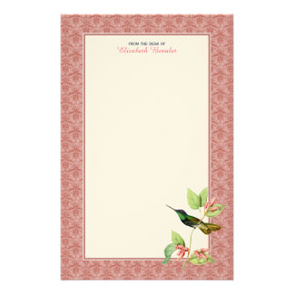 Magnificent Hummingbird Personal Stationery