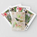 Magnificent Hummingbird Playing Cards