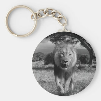 Magnificent Lion Keychain