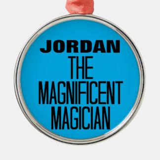 Magnificent Magician Metal Ornament