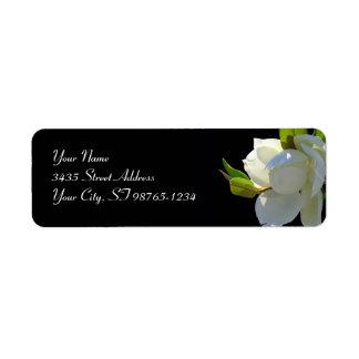 Magnificent Magnolia Return Address Labels