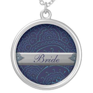 Magnificent Mehndi Mandalas (Blue) Wedding Jewelry