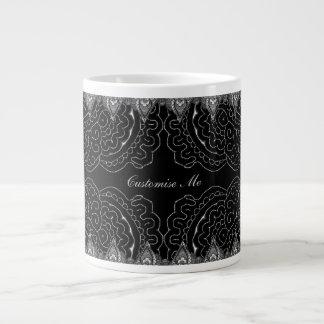 Magnificent Mehndi Mandalas Large Coffee Mug