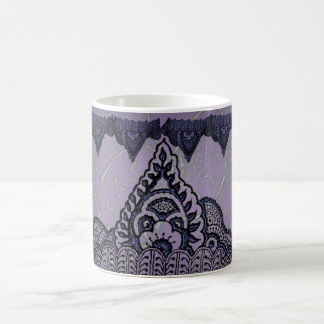 Magnificent Mehndi Mandalas (Purple) Coffee Mug