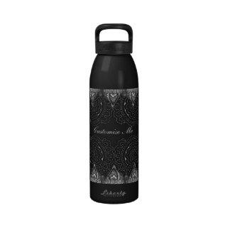 Magnificent Mehndi Mandalas Water Bottles