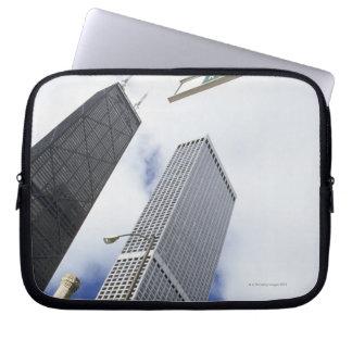 Magnificent Mile, Michigan Avenue, Hancock Laptop Sleeve