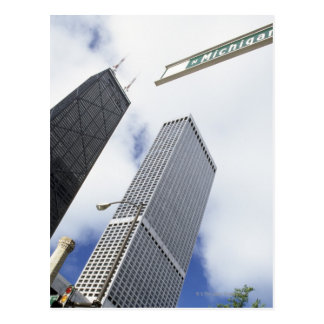 Magnificent Mile, Michigan Avenue, Hancock Postcard