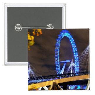 Magnificent! Millennium Wheel London Pinback Button