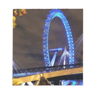 Magnificent! Millennium Wheel London Note Pad