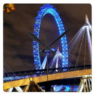 Magnificent Millennium Wheel London Wall Clock
