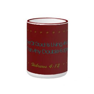 Magnificent Mug Living and active God verse!