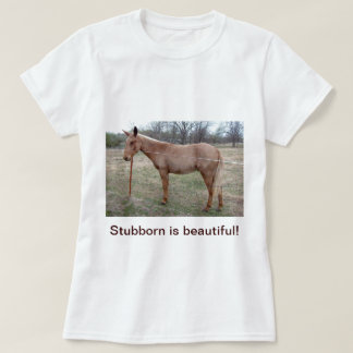 Magnificent Mule! Ladies T-shirt