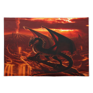 Magnificent Red Dragon Placemat