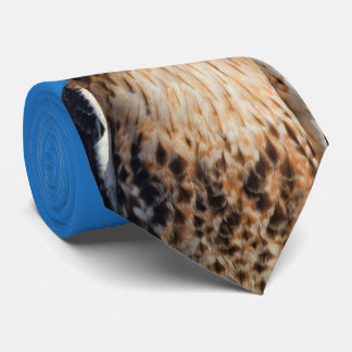 Magnificent Red-Tailed Hawk in the Sun Tie