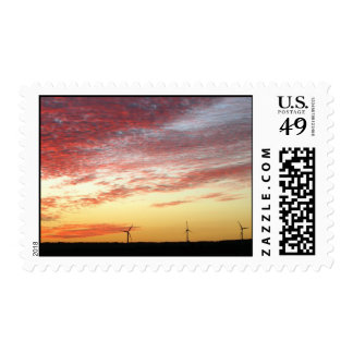 Magnificent Sky and Wind Generators Stamp