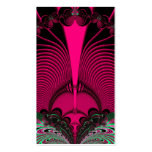 Magnificent Sunrise Reflections Fractal Business Card Templates