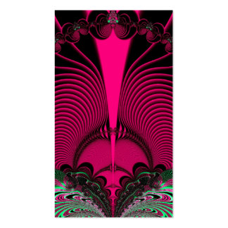 Magnificent Sunrise Reflections Fractal Business Card